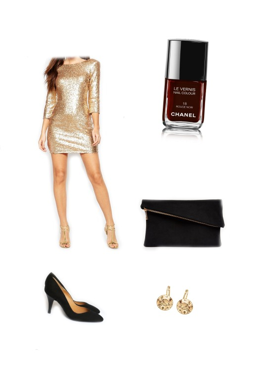 Tenue Goldfinger